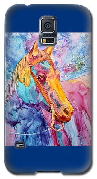 Horse Of Many Colors Galaxy S5 Case