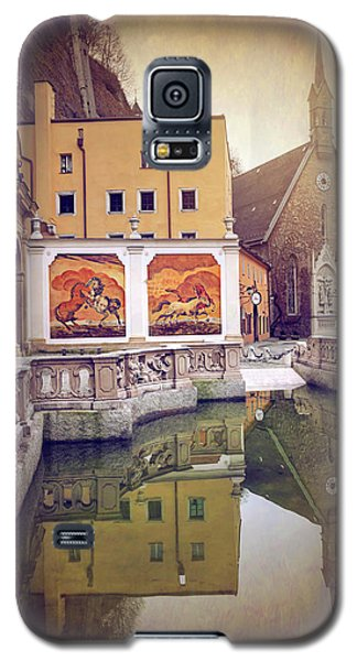 Horse Pond  Karajan Square  Salzburg Austria  Galaxy S5 Case