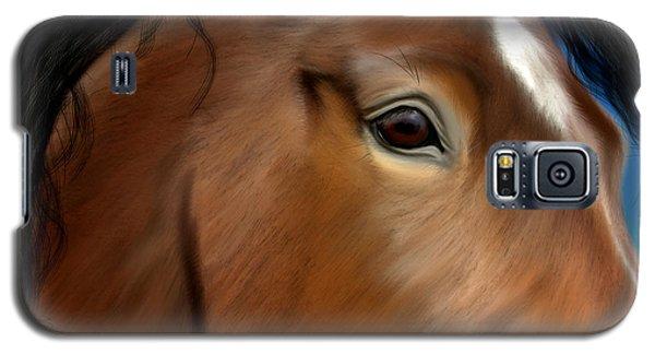 Horse Portrait Close Up Galaxy S5 Case