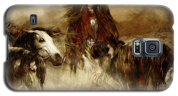Horse Spirit Guides Galaxy S5 Case by Shanina Conway