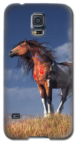 Horse With War Paint Galaxy S5 Case