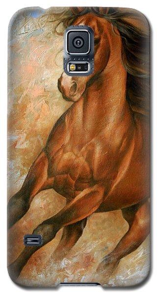 Wildlife Galaxy S5 Case - Horse1 by Arthur Braginsky