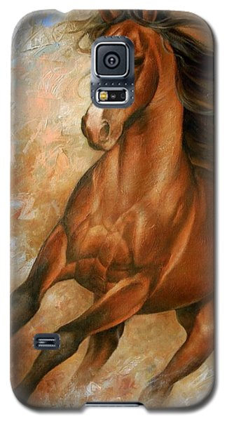 Wildlife Galaxy S5 Case - Horse1 by Arthur Braginsky