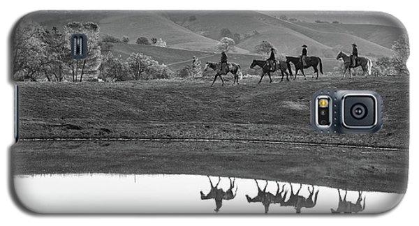 Horseback Landscape Galaxy S5 Case