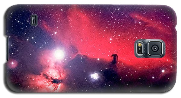 Horsehead Nebula Panorama Galaxy S5 Case