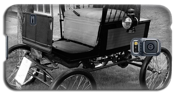 Horseless Carriage-bw Galaxy S5 Case