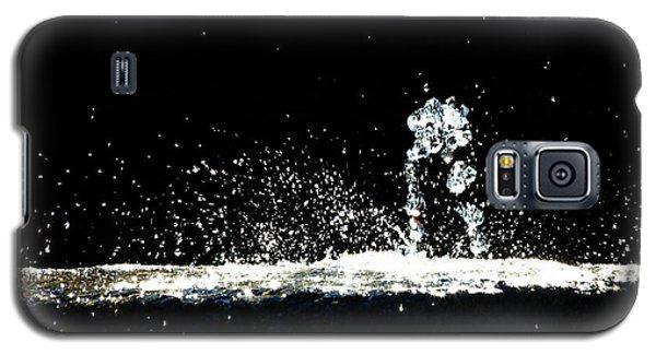 Horses And Men In Rain Galaxy S5 Case