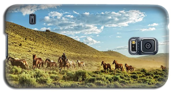Horses And More Horses Galaxy S5 Case