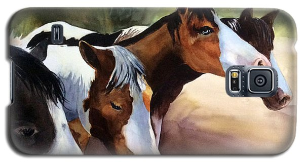 Horses At The Ranch Galaxy S5 Case