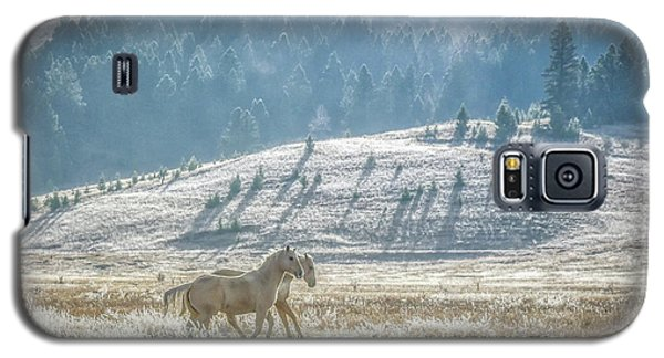 Horses In The Frost Galaxy S5 Case