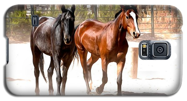 Horses Unlimited_6a Galaxy S5 Case