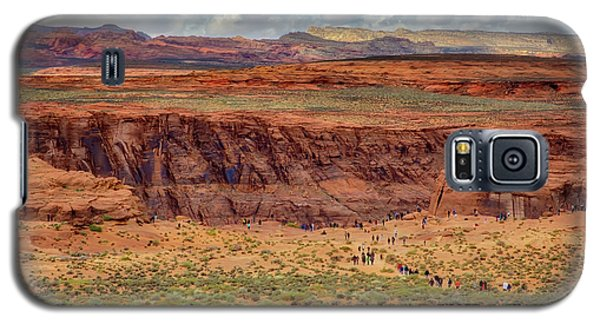 Galaxy S5 Case featuring the photograph Horseshoe Bend Arizona #2 by Jennifer Rondinelli Reilly - Fine Art Photography