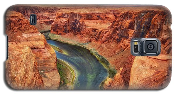 Galaxy S5 Case featuring the photograph Horseshoe Bend Arizona - Colorado River #2 by Jennifer Rondinelli Reilly - Fine Art Photography