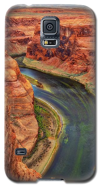 Galaxy S5 Case featuring the photograph Horseshoe Bend Arizona - Colorado River #3 by Jennifer Rondinelli Reilly - Fine Art Photography