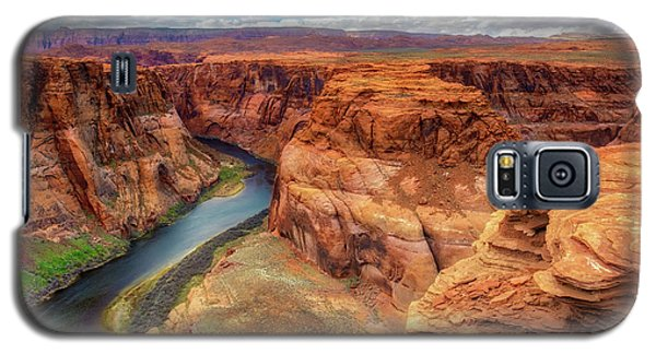 Galaxy S5 Case featuring the photograph Horseshoe Bend Arizona - Colorado River $4 by Jennifer Rondinelli Reilly - Fine Art Photography