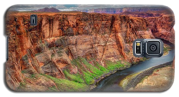 Galaxy S5 Case featuring the photograph Horseshoe Bend Arizona - Colorado River #5 by Jennifer Rondinelli Reilly - Fine Art Photography