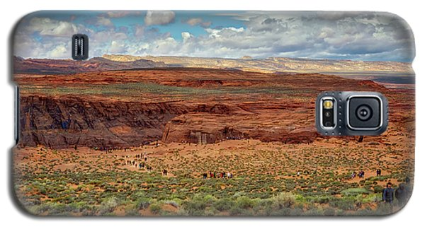 Galaxy S5 Case featuring the photograph Horseshoe Bend  - Arizona by Jennifer Rondinelli Reilly - Fine Art Photography