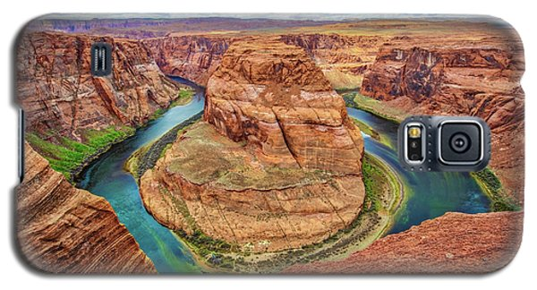 Galaxy S5 Case featuring the photograph Horseshoe Bend - Colorado River - Arizona by Jennifer Rondinelli Reilly - Fine Art Photography