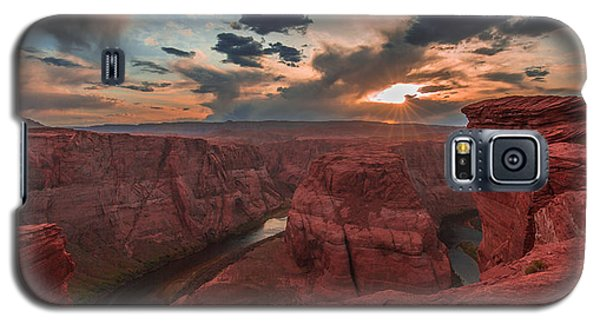Horseshoe Bend Sunset Galaxy S5 Case