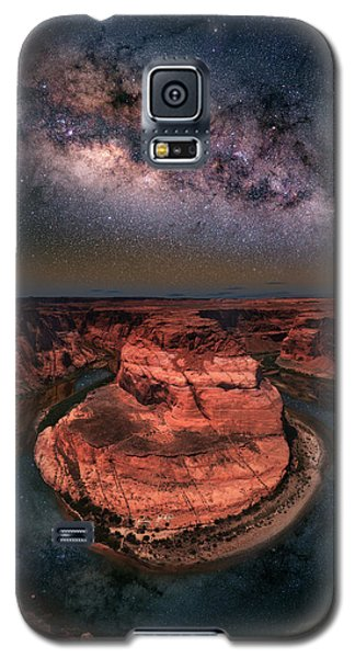 Horseshoe Bend With Milkyway Galaxy S5 Case