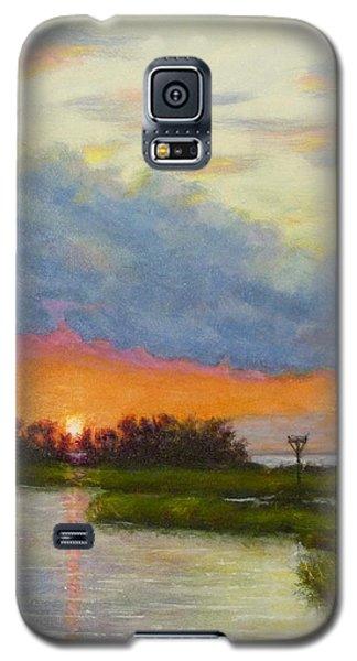 Horseshoe Cove Sunset Galaxy S5 Case