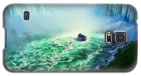 Horseshoe Falls Niagara Galaxy S5 Case by Lawrence Christopher