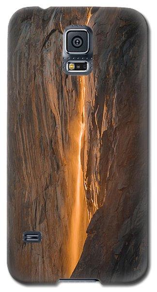 Horsetail Fall 1 Yosemite Galaxy S5 Case
