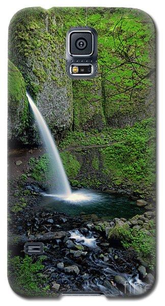 Horsetail Falls Waterfall Art By Kaylyn Franks Galaxy S5 Case