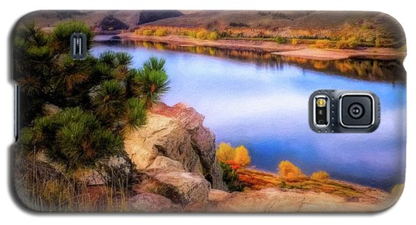 Horsetooth Lake Overlook Galaxy S5 Case