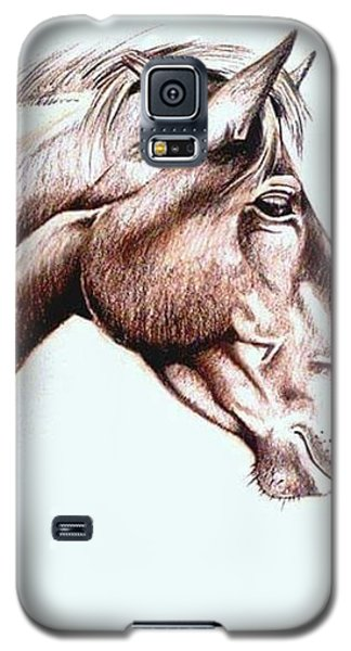 Galaxy S5 Case - Horsing Around  by Janine Bouwer