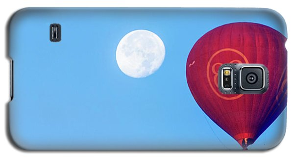 Hot Air Balloon And Moon Galaxy S5 Case