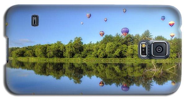Quechee Balloon Fest Reflections Galaxy S5 Case