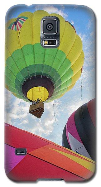 Hot Air Balloon Takeoff Galaxy S5 Case