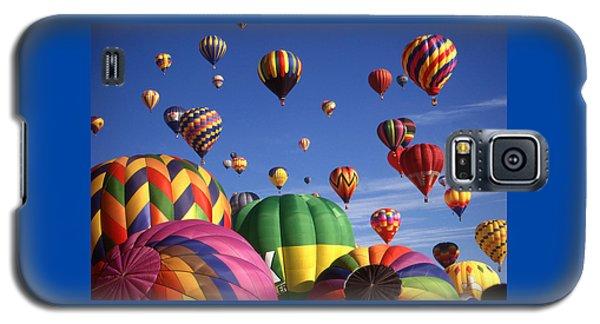 Beautiful Balloons On Blue Sky Galaxy S5 Case