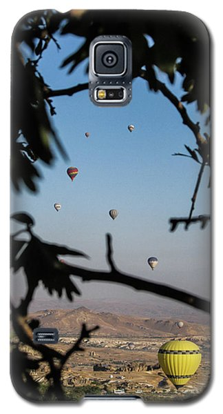 Hot Air Balloons In Cappadocia, Turkey Galaxy S5 Case
