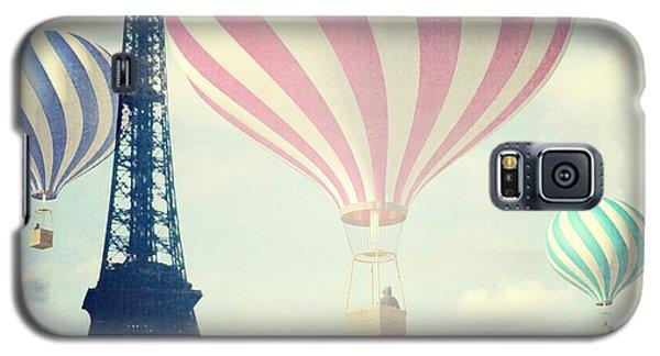 Hot Air Balloons In Paris Galaxy S5 Case