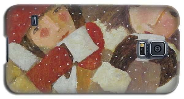 Galaxy S5 Case featuring the painting Hot Chocolate by Glenn Quist