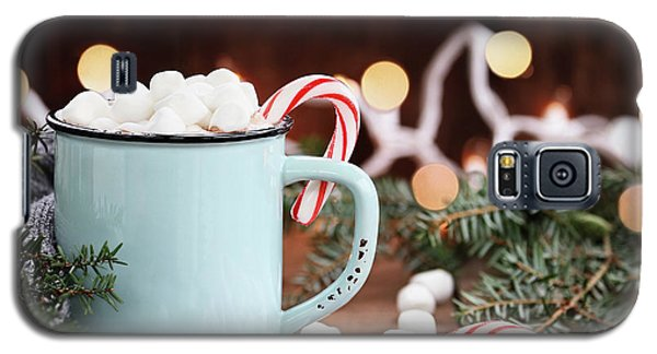 Hot Cocoa With Marshmallows And Candy Canes Galaxy S5 Case