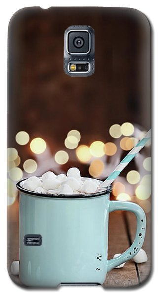 Hot Cocoa With Mini Marshmallows Galaxy S5 Case by Stephanie Frey