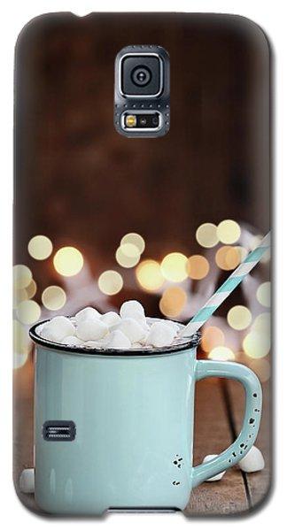 Hot Cocoa With Mini Marshmallows Galaxy S5 Case
