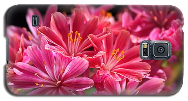 Hot Glowing Pink Delight Of Flowers Galaxy S5 Case