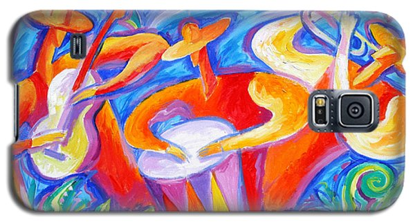 Hot Latin Jazz Galaxy S5 Case