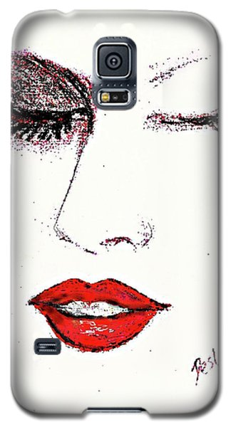 Hot Lips Galaxy S5 Case by Desline Vitto