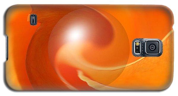 Hot Orange Globe Galaxy S5 Case