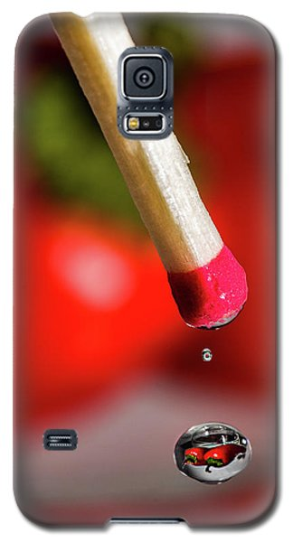 Hot Pepper Drops Galaxy S5 Case