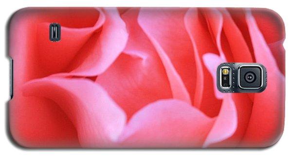 Hot Pink Petals Galaxy S5 Case