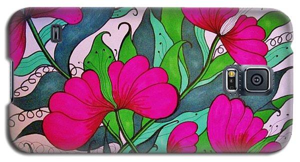 Hot Pink  Galaxy S5 Case