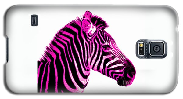Hot Pink Zebra Galaxy S5 Case