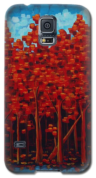 Hot Reds Galaxy S5 Case