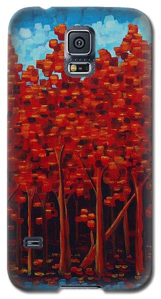 Hot Reds Galaxy S5 Case